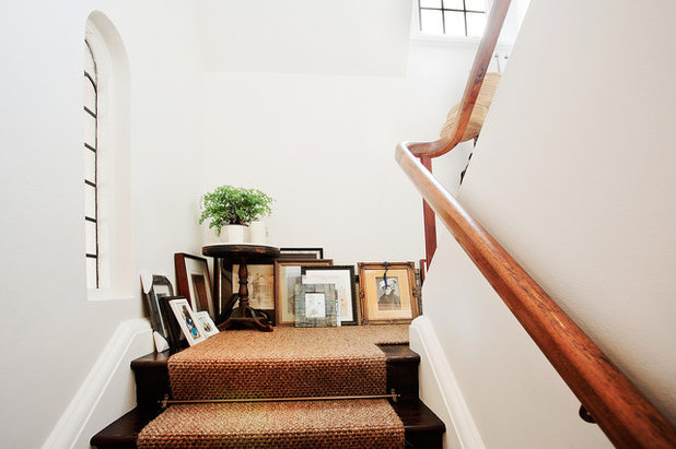 Eclectic Staircase by Bronwyn Poole of Touch Interiors