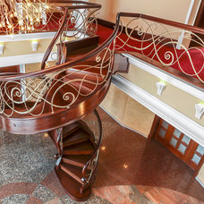 Eclectic Staircase by Grand Design Staircases