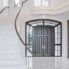 Traditional Staircase by Hollub Homes