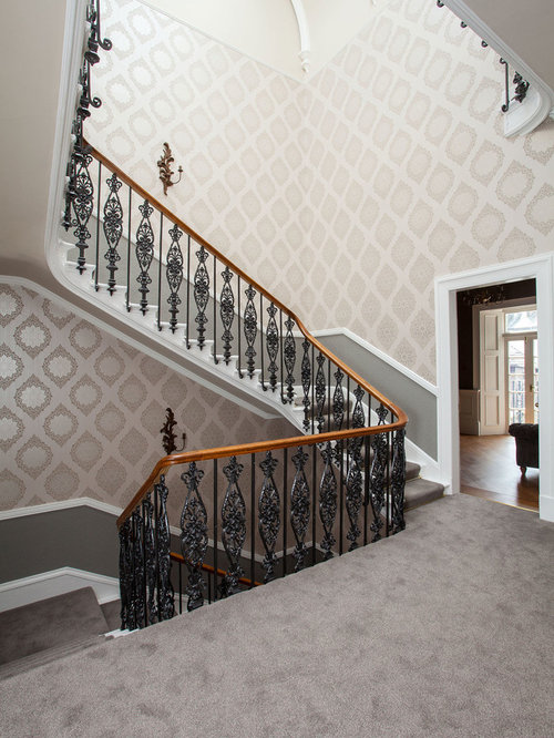 Metal Stair Railing Design Ideas Amp Remodel Pictures Houzz