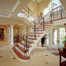 Traditional Staircase by E. B. Mahoney Builders, Inc.