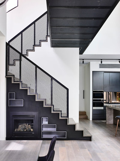 Contemporary Staircase by EWERT LEAF PTY LTD