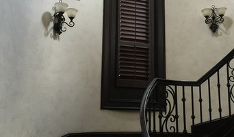 Stained Knotty Alder Custom Plantation Shutters