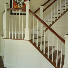 Contemporary Staircase by Magnus Anderson Hardwood Floors