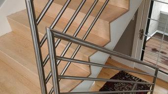 Stainless railings