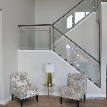 Stainless Steel & Glass Railing