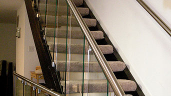 Stainless Steel & Glass Stair Rail System