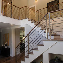 """""""Olympus"""" Stainless Steel Bar Railings by AGS Stainless"""