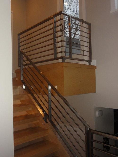 Horizontal Steel Railing Home Design Ideas, Pictures ...
