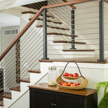 Stainless Steel Rod Railing for Stairs