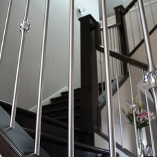 Contemporary Staircase by Prestige Railings & Stairs Ltd.