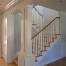 Craftsman Staircase by Alfonso and Harmon Architects
