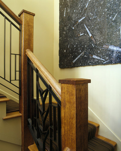 Traditional Staircase by Design Solutions