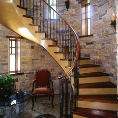 traditional staircase by Talla Skogmo Interior Design