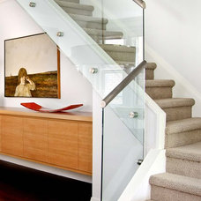 modern staircase by Jodie Rosen Design