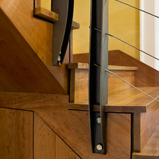 Contemporary Staircase by Smith & Vansant Architects PC