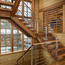 Modern Staircase by Acanthus Architecture, PA