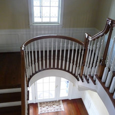 Traditional Staircase by Erdreich Architecture, P.C.