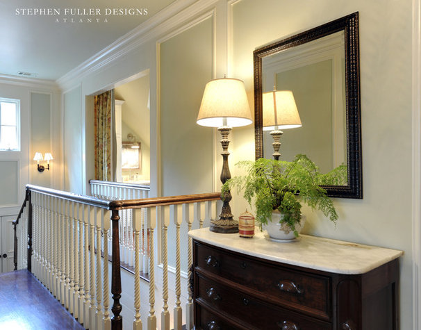 Traditional Staircase by Stephen Fuller Designs