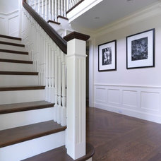 Traditional Staircase by Hart Associates Architects, Inc.
