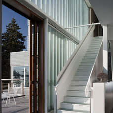 Modern Staircase by Elliott + Elliott Architecture