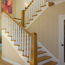 Eclectic Staircase by Jochum Architects