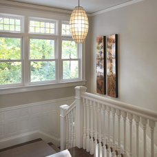 Traditional Staircase by Rachel Reider Interiors