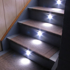 Traditional Staircase by Reactive Lighting