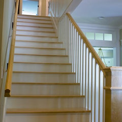 traditional staircase by McCoppin Studios