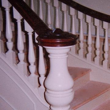 Stair Newel Post