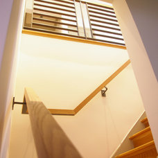 Modern Staircase by Patrick Perez Architect