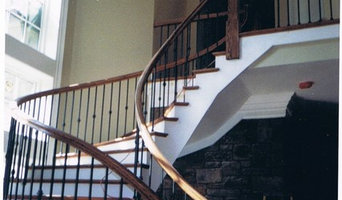 Stair rail installations