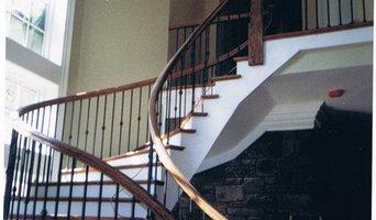 Stair rail installations