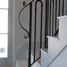 Contemporary Staircase by Grizzly Iron, Inc