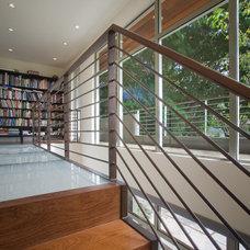 Contemporary Staircase by Ohashi Design Studio