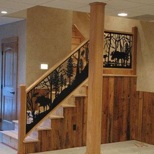 Fotos de escaleras dise os de escaleras r sticas en tampa - Escaleras de madera rusticas ...