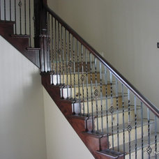 Traditional Staircase by Apex Carpentry