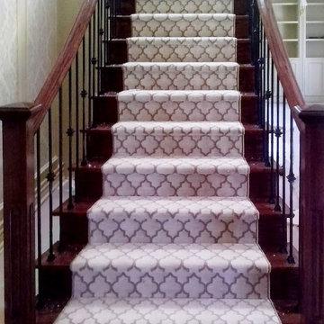 Stair Runner Installation