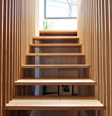 modern staircase by Andrew Snow Photography