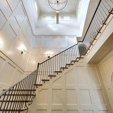 Mediterranean Staircase by Heritage Design Studio