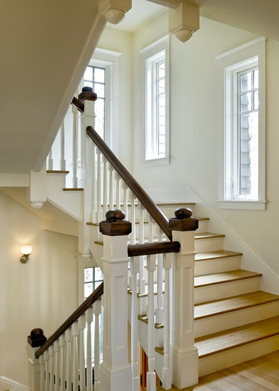 How To Update A Traditional Staircase