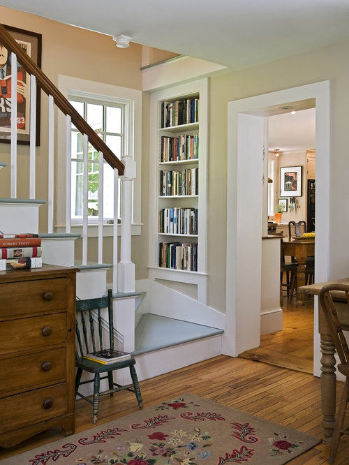 Diy Staircase Bookcase Design Ideas & Remodel Pictures | Houzz