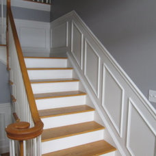 Traditional Staircase by Image Contracting