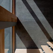 Modern Staircase by Walker Workshop