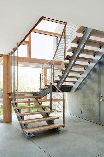 Industrial Staircase by Walker Workshop