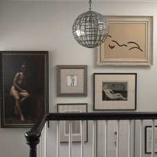 Contemporary Staircase by Mary Hickey Interiors