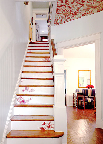 Shabby-Chic-Style Treppen by Aesthetic Answers