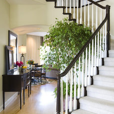 Traditional Staircase by Robeson Design