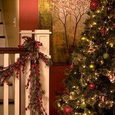Craftsman Staircase by Susan Rudd Designs