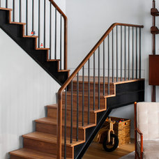 Contemporary Staircase by Best & Company